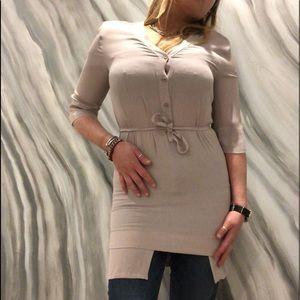 MM6 MAISON MARTIN MARGELA silk dress/top